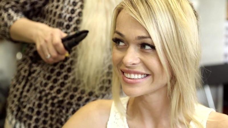 Анна Хилькевич сняла нарощенные волосы
