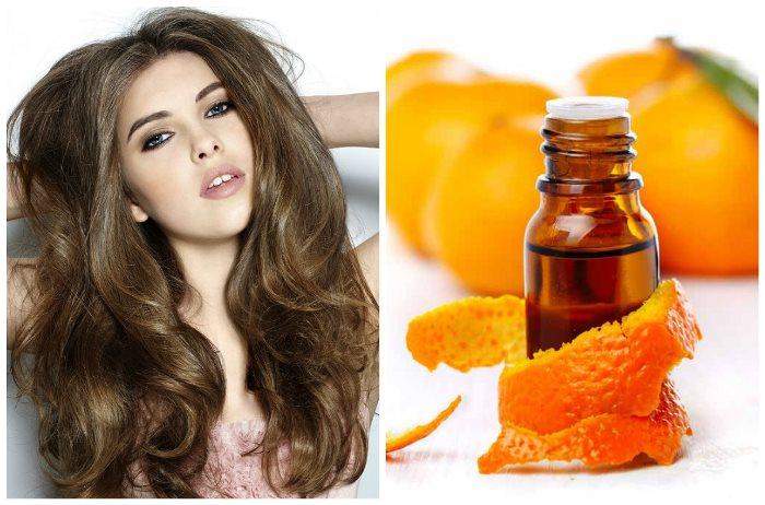 Апельсин для волос: масло, маски и шампуни