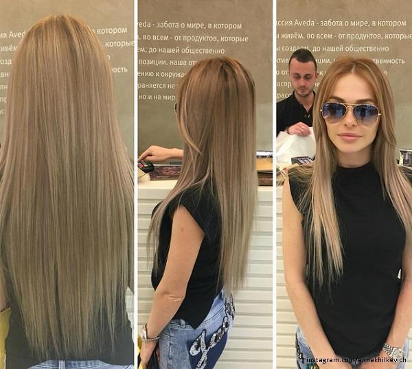 Хилькевич с русыми волосами