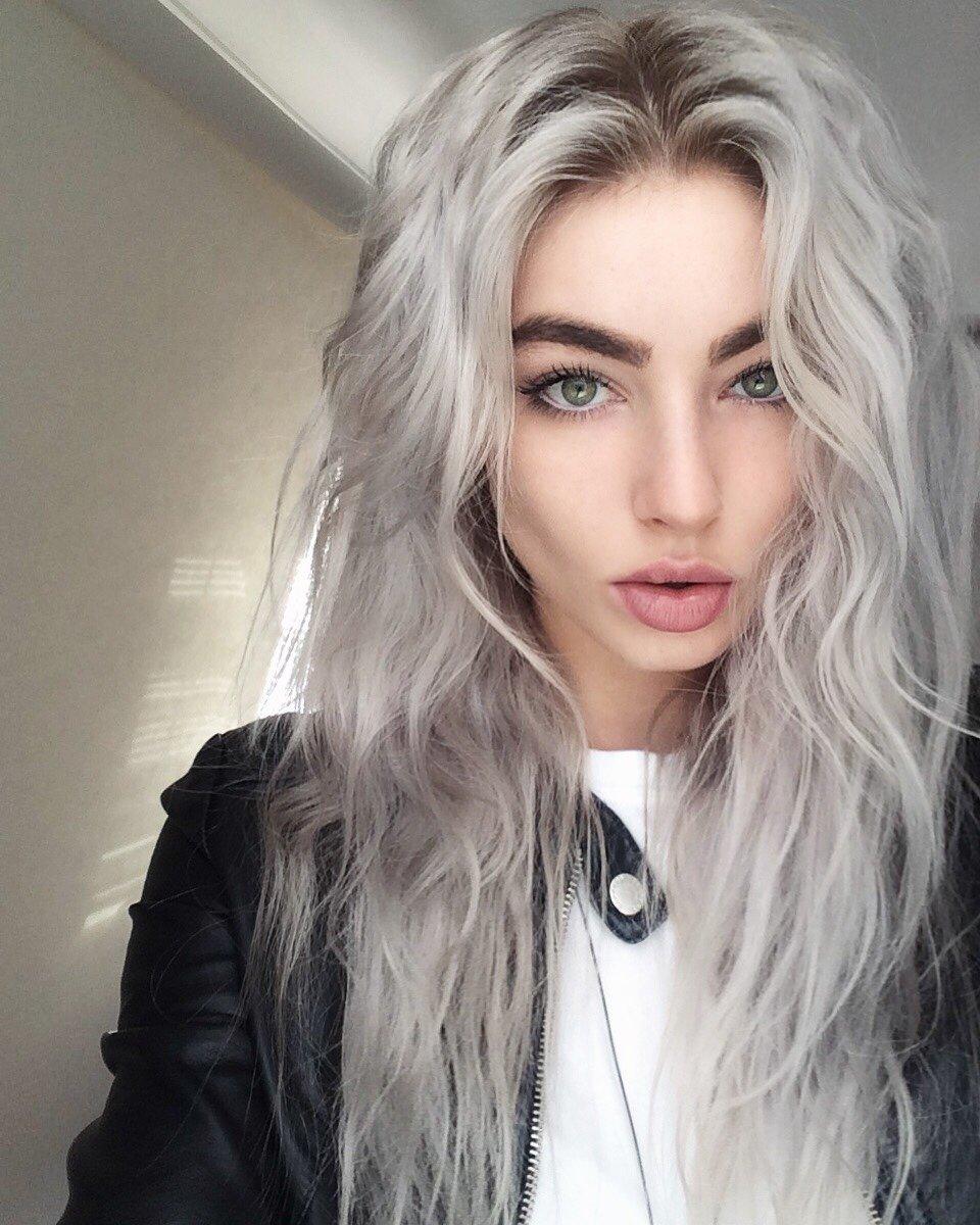 Как выглядят волосы пепельный блондин