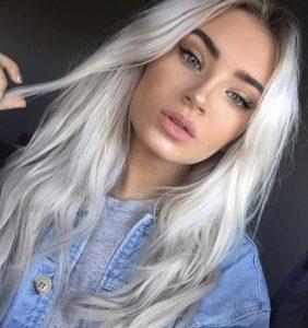 пепельный цвет волос как выглядит