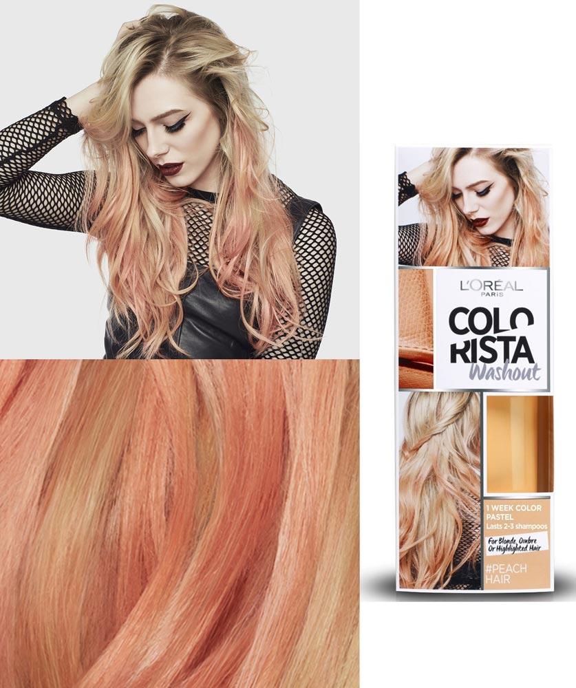 Краска для волос цвет персик
