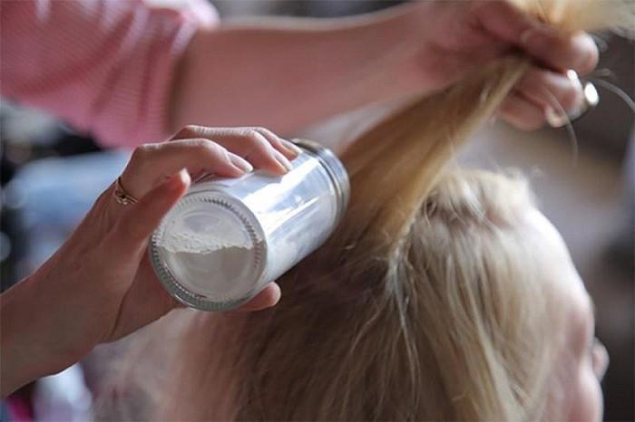 Детская присыпка для волос