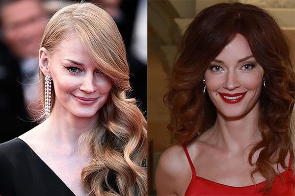 Стоит отметить что брюнеткой Свете не хуже чем блондинкой и она все равно обладает невероятной красотой