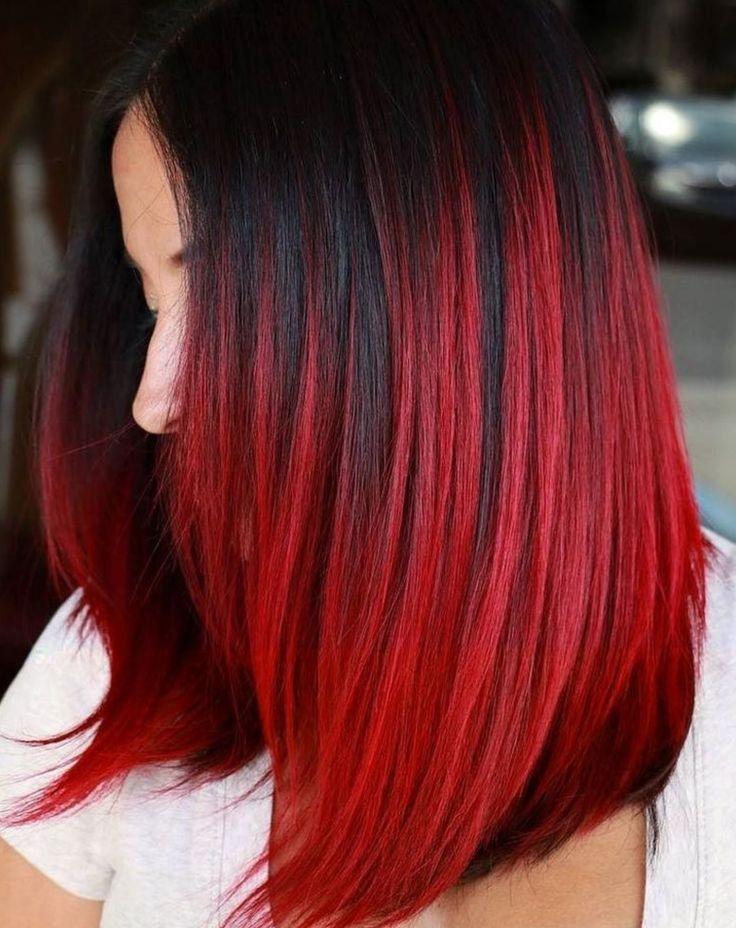 Кому подойдут красные волосы