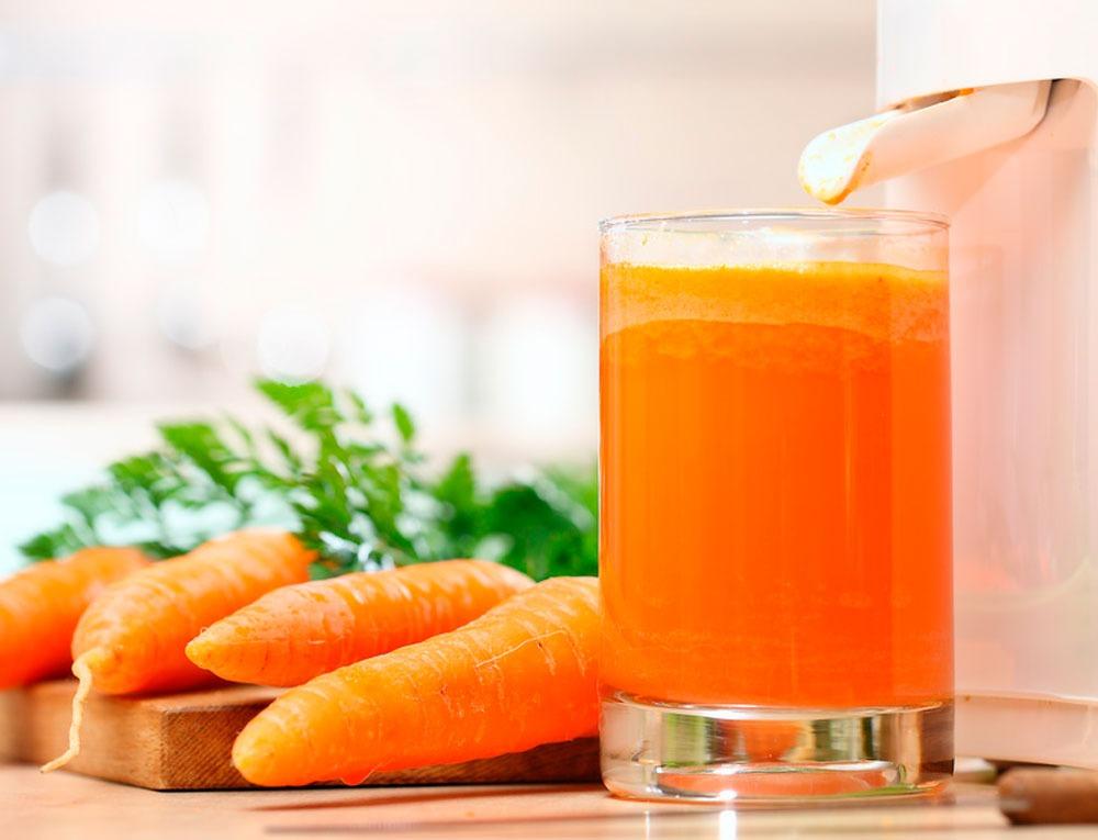 Морковный сок для волос