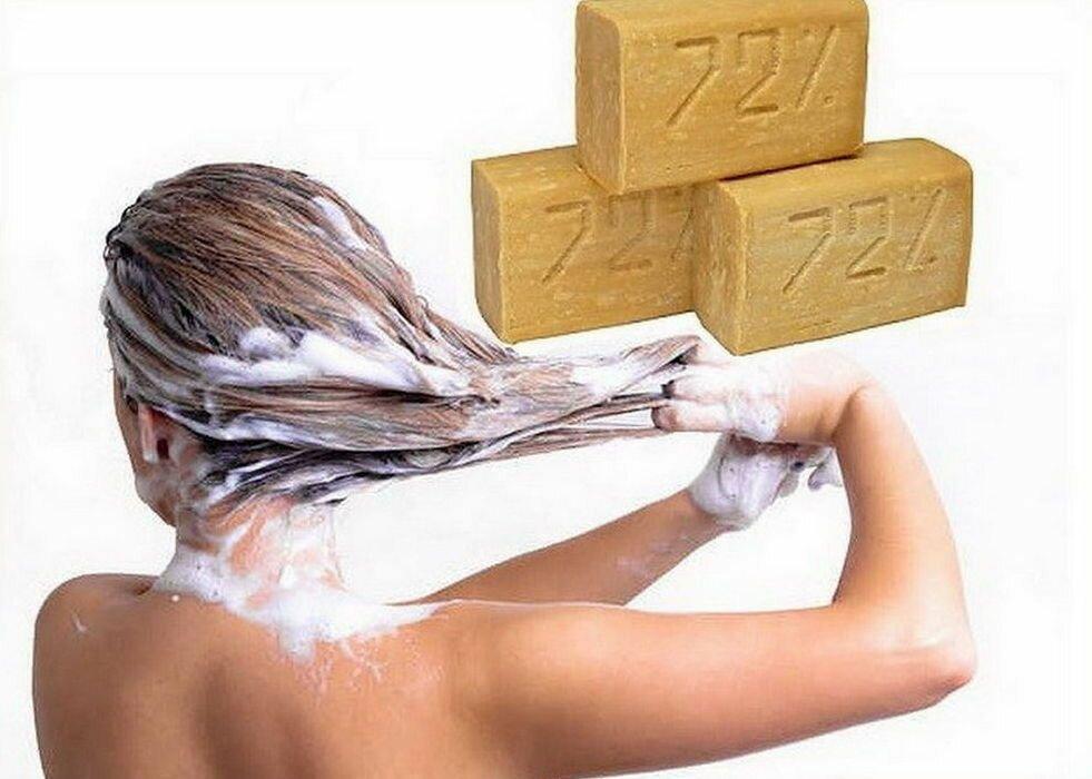 Можно волосы мыть мылом