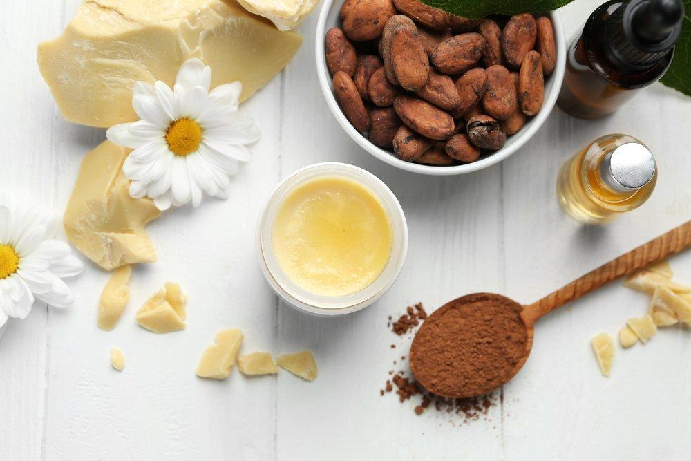 какао масло +для волос +как использовать