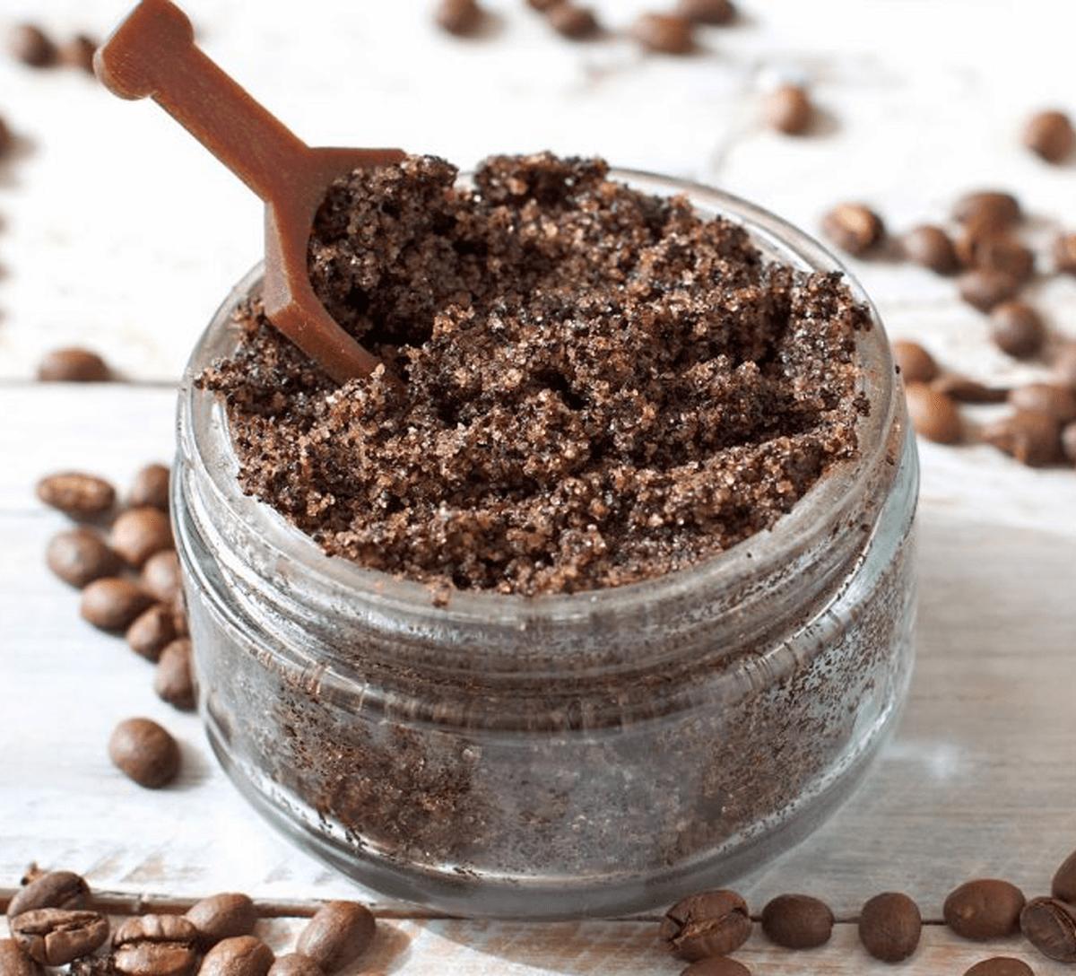 Отшелушивающий кофейный скраб