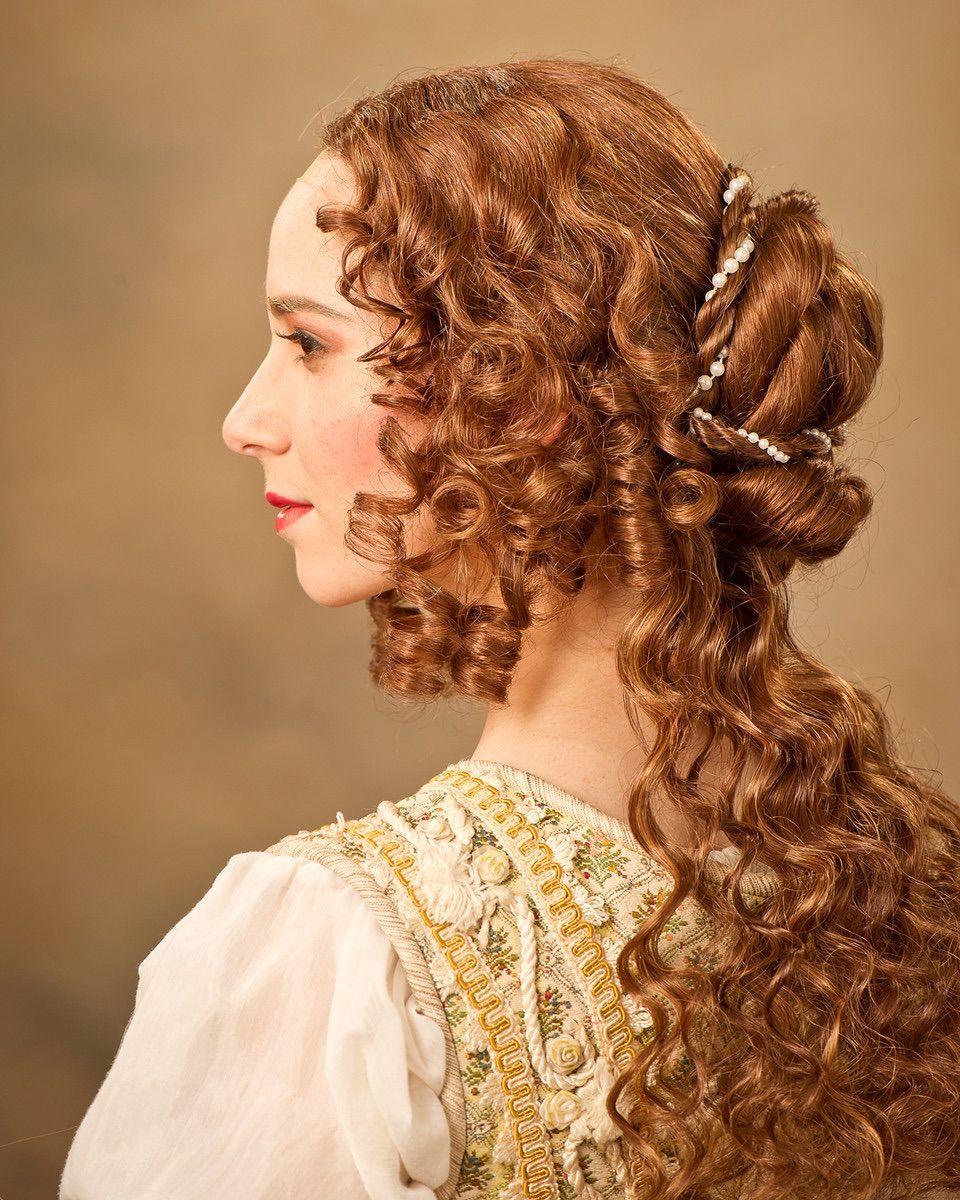 Прически эпохи Ренессанса