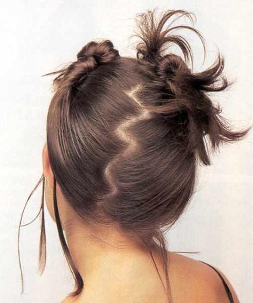 Как сделать зигзаг на волосах