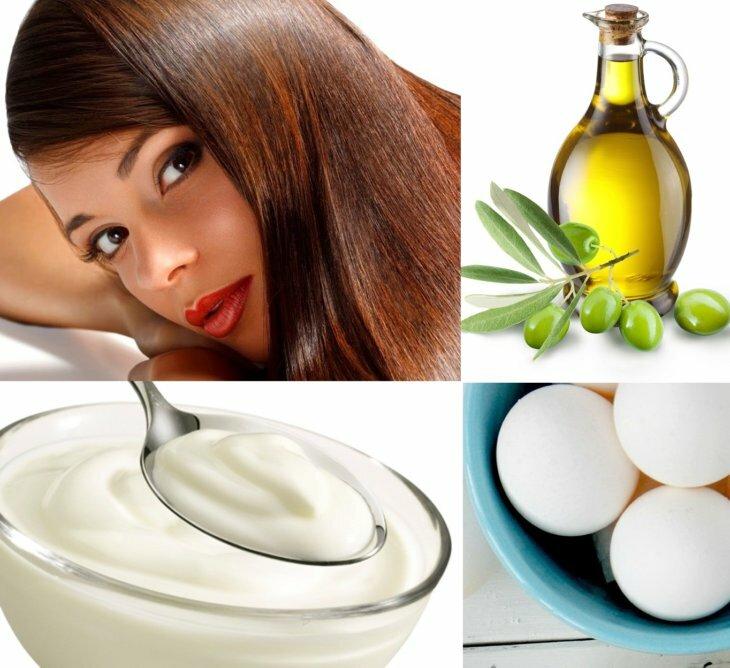 продукты для увлажнения волос