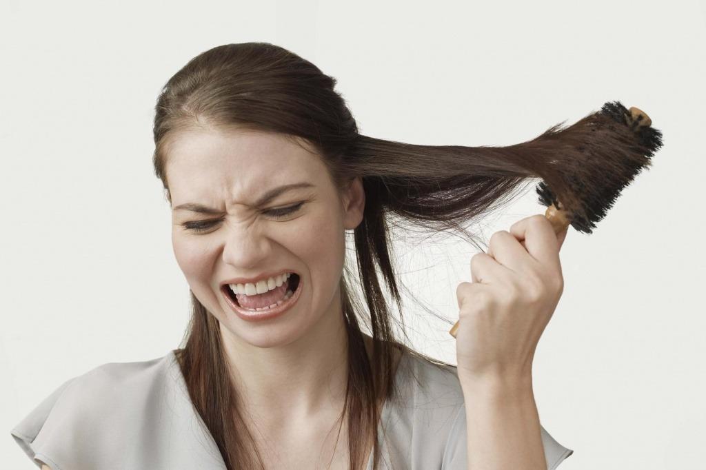 Как распутать волосы в домашних условиях ошибки