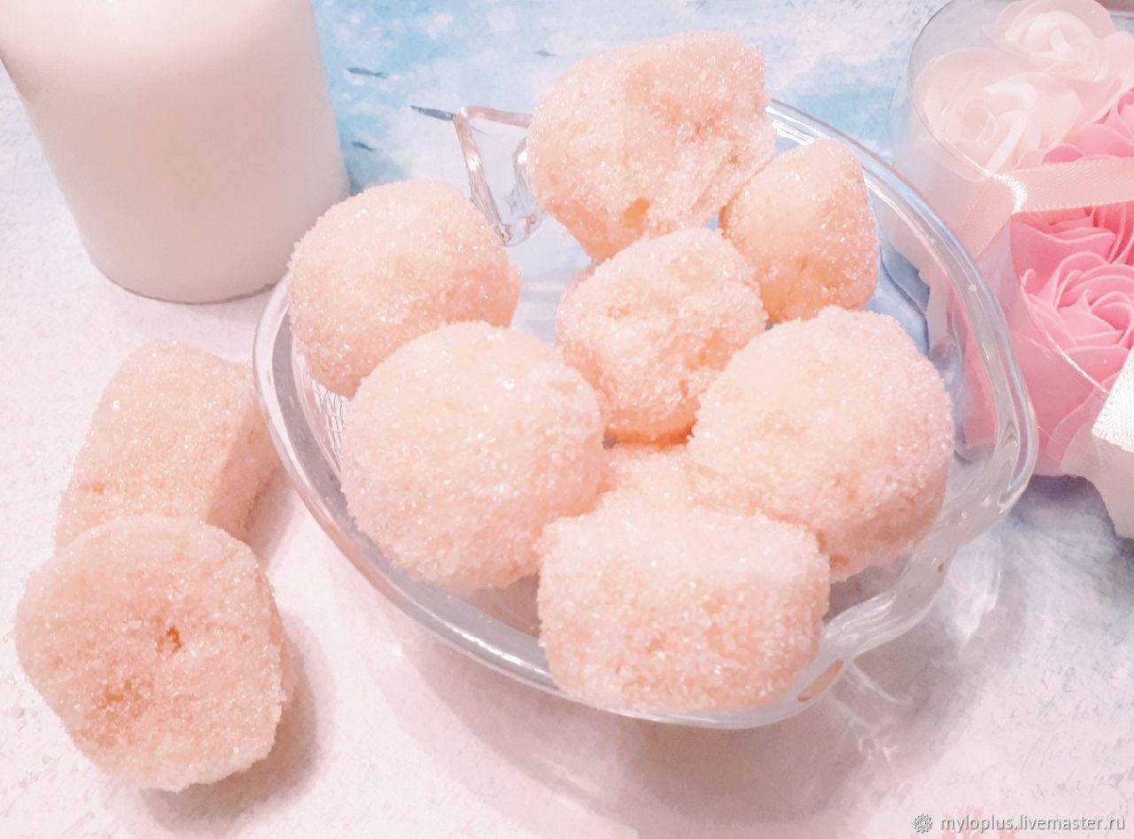 Сахарный скраб для волос