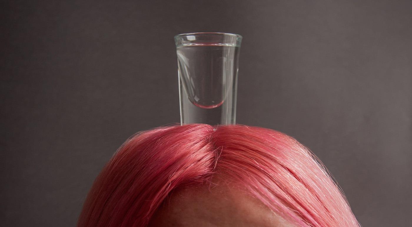 Водка против выпадения волос