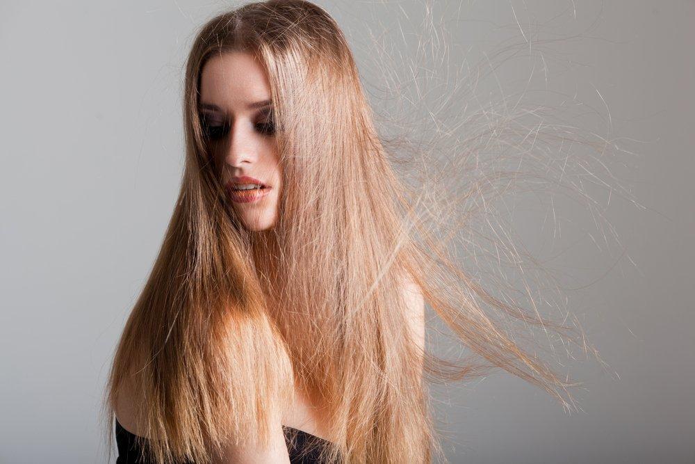 Волосы и статическое электричество