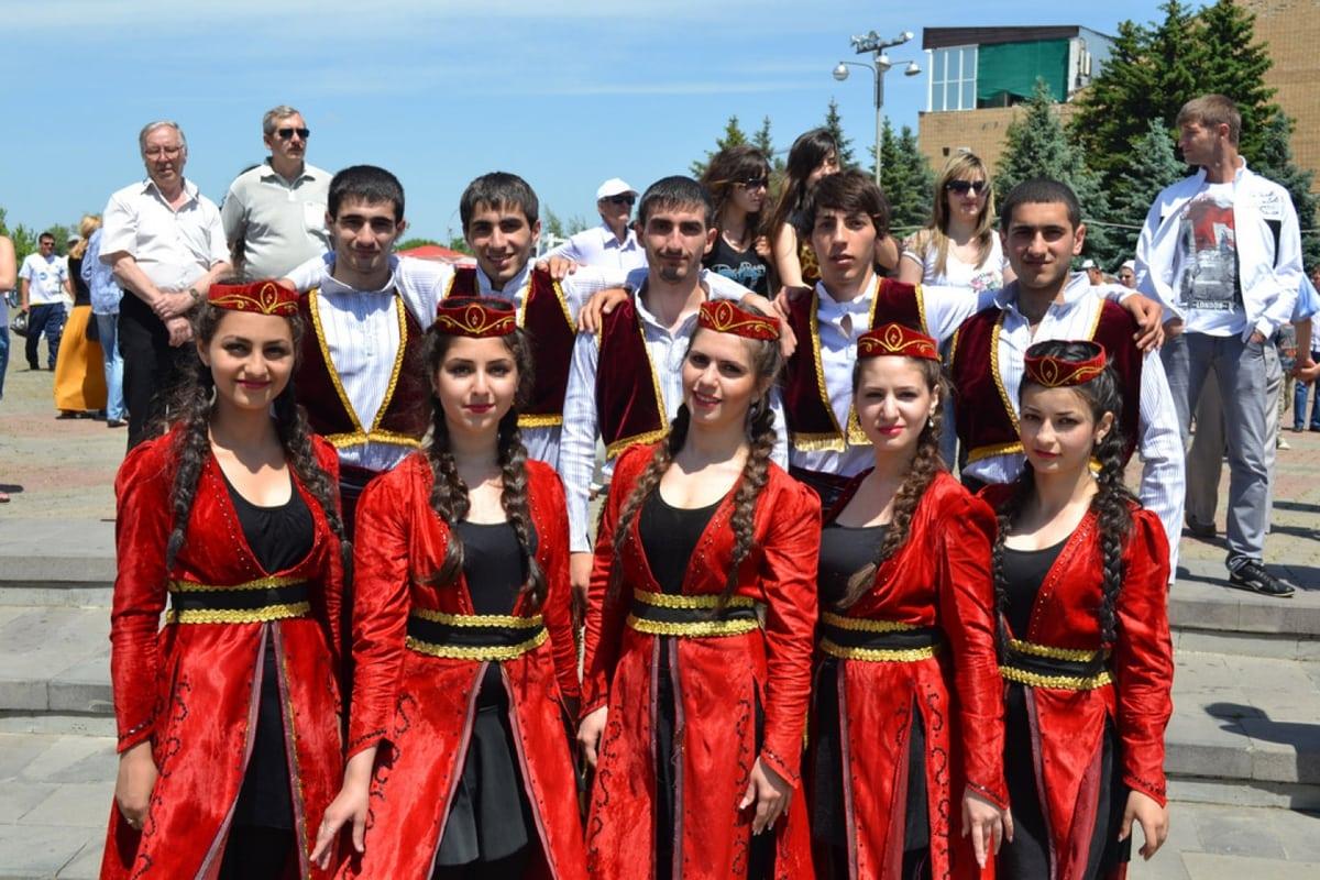 Волосы армян