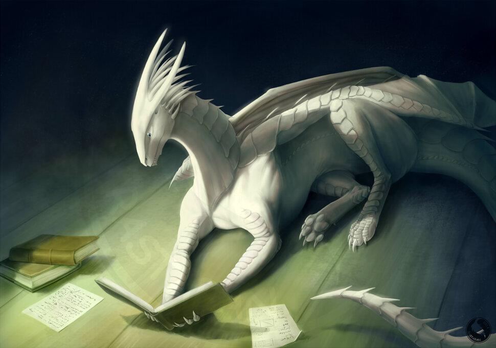 белый дракон