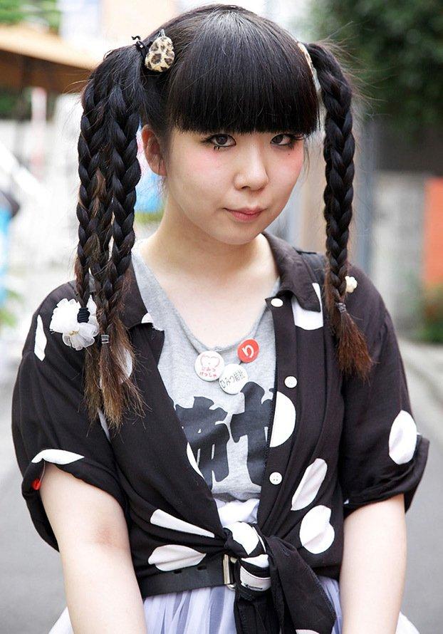 Цвет волос японцев