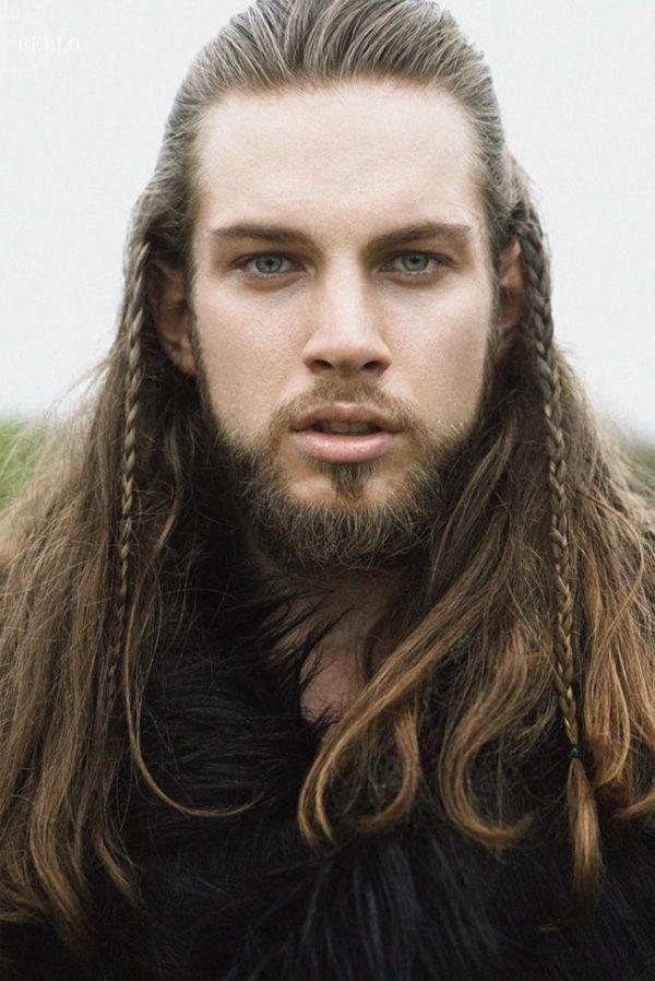 Длинные волосы викингов в настоящее время