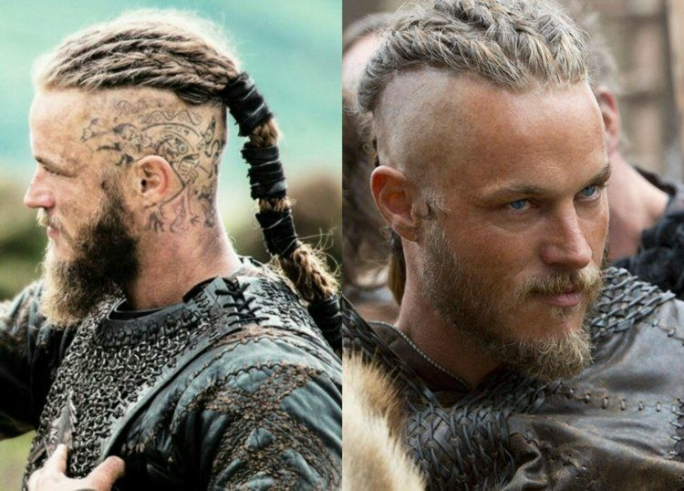 длинные волосы викингов