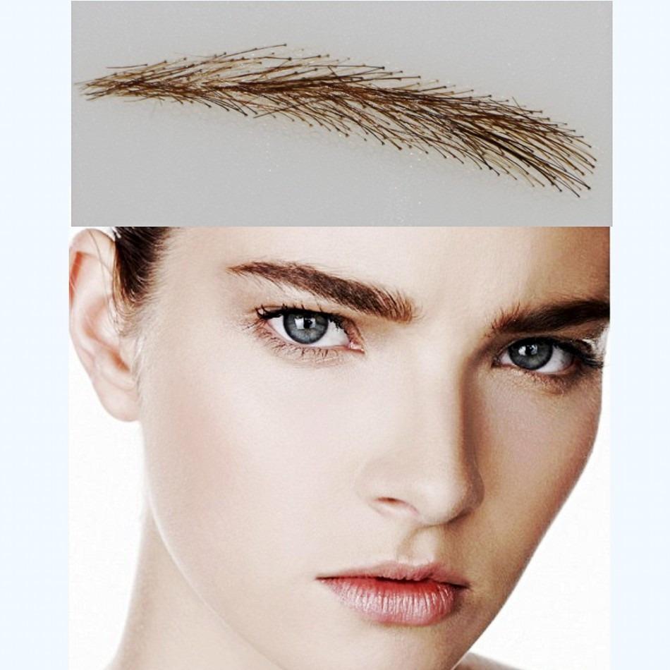 Длинные волосы на бровях