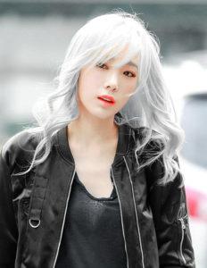 японцы с белыми волосами девушки