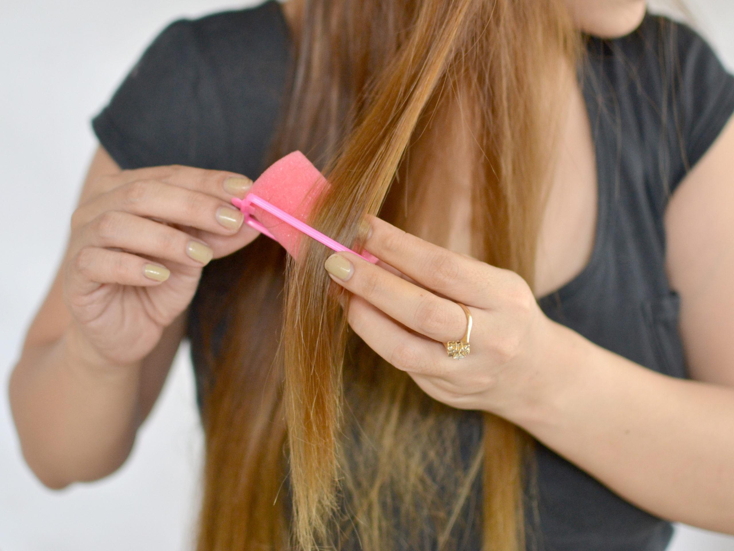 Как выпрямить волосы без плойки и утюжка
