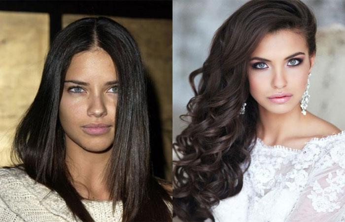 Какие темные оттенки волос не старят