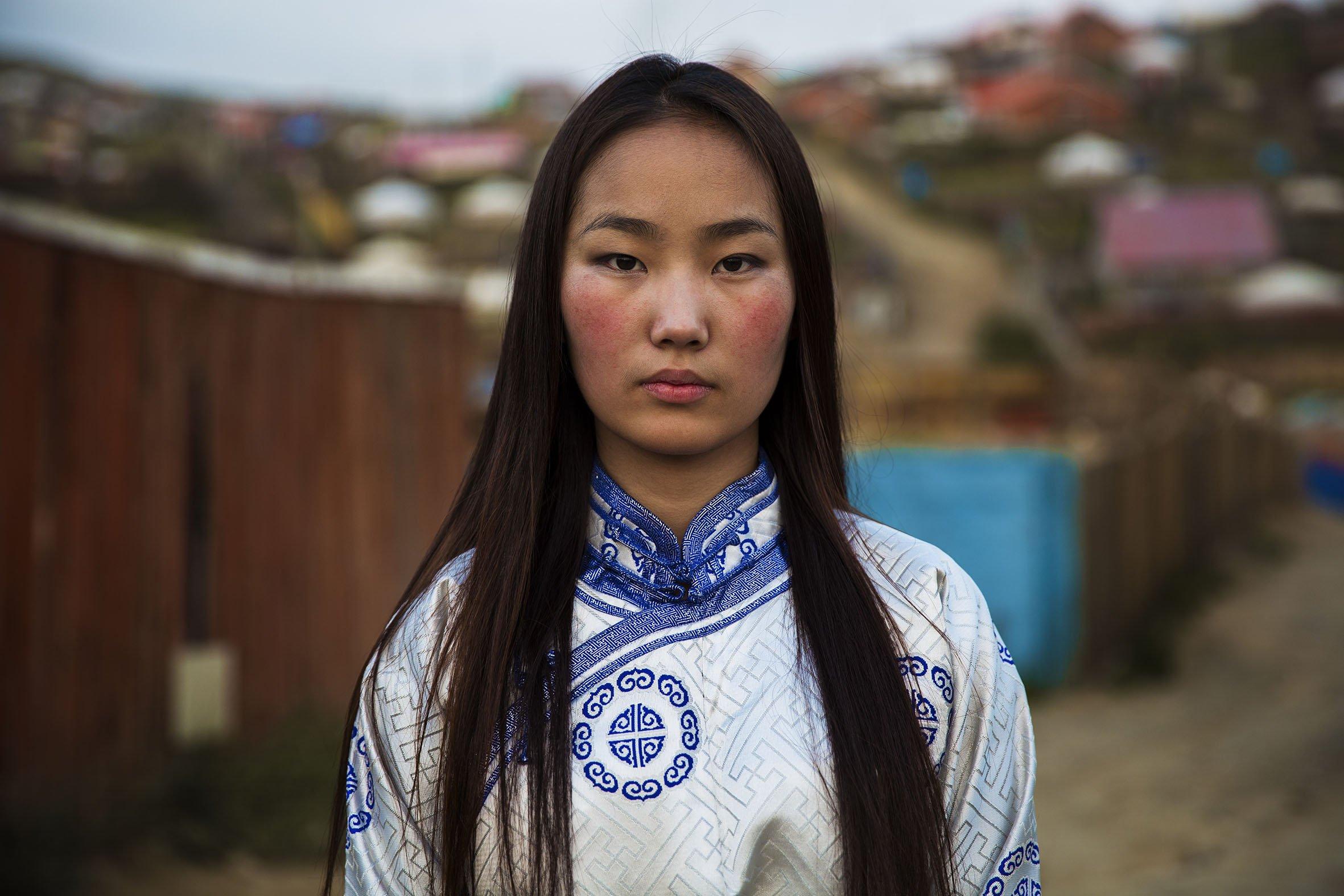 Какие волосы у монголов
