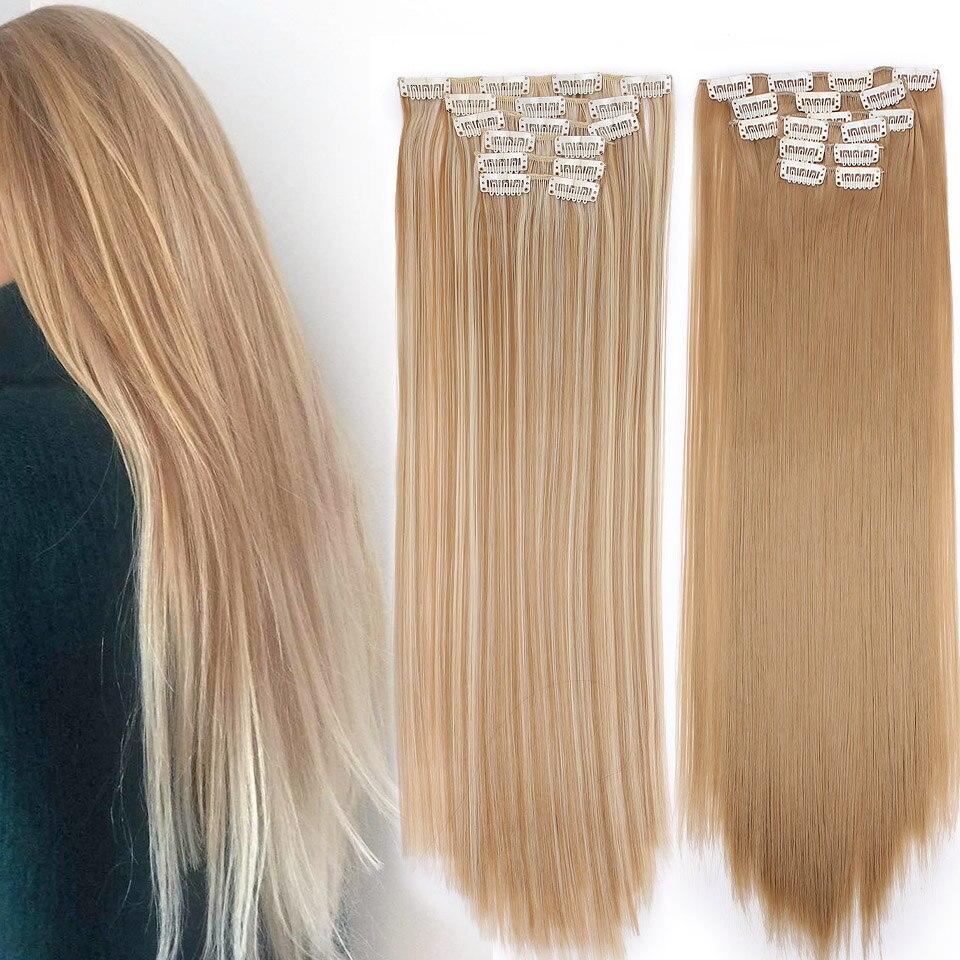 Клипсы волосы