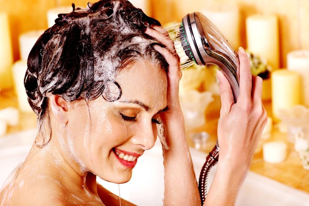 Масло лимона для волос в шампунь