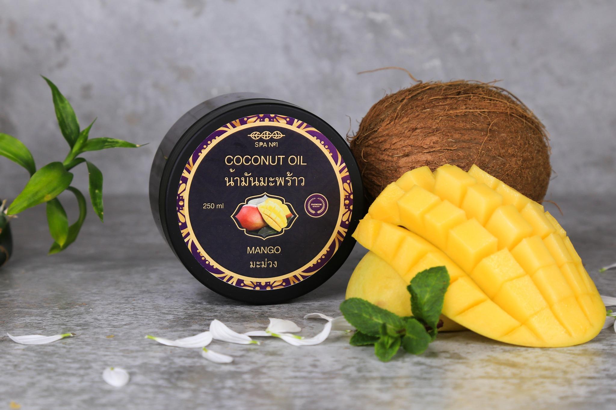 масло манго для волос
