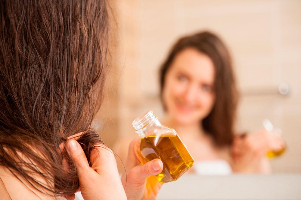 масло на ночь на сухие волосы