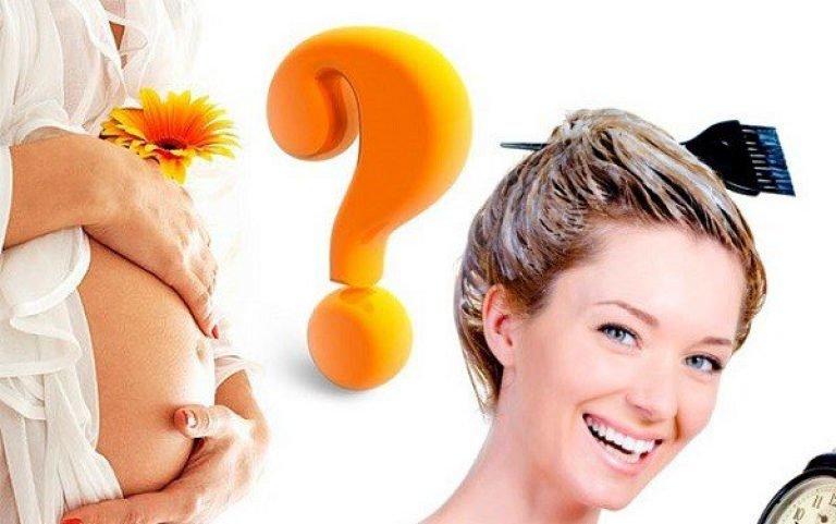 Можно ли красить волосы во время беременности на ранних сроках