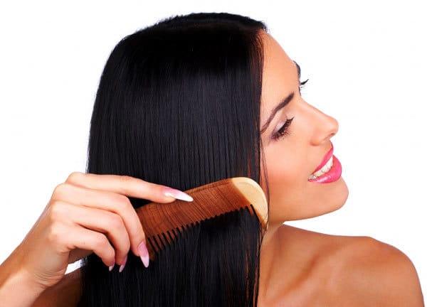 Непрерывное расчесывание для выпрямления волос