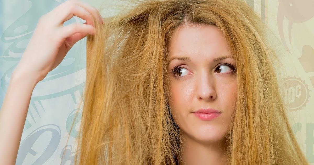 Обезвоживание волос причины