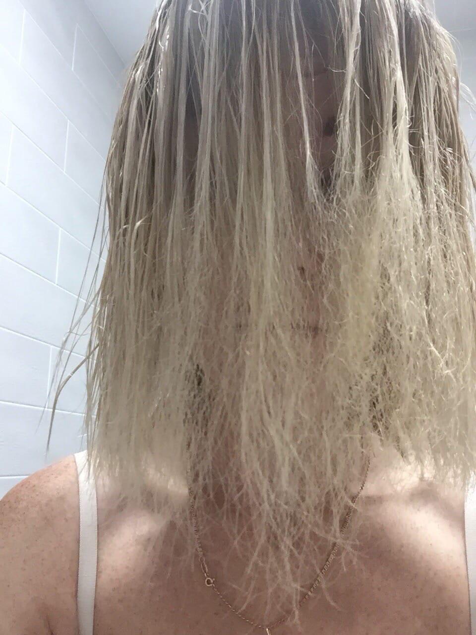 Сгорели волосы феном что делать