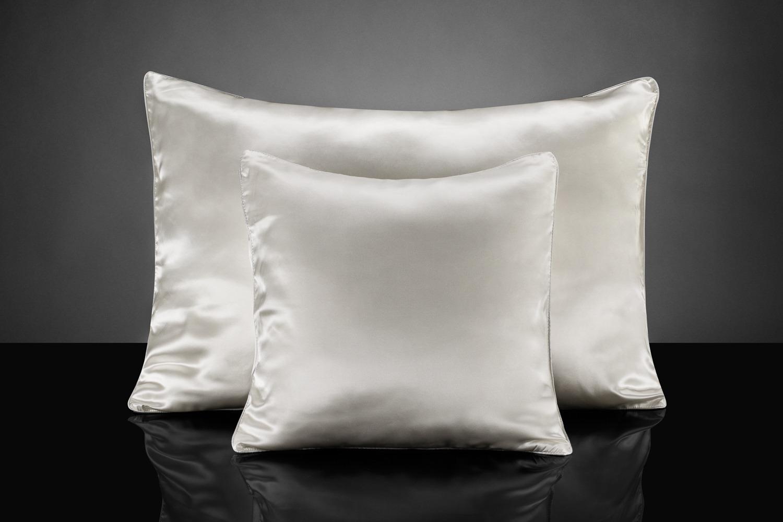 Шелковая подушка для волос польза