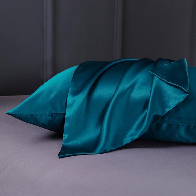 Шелковая подушка для волос