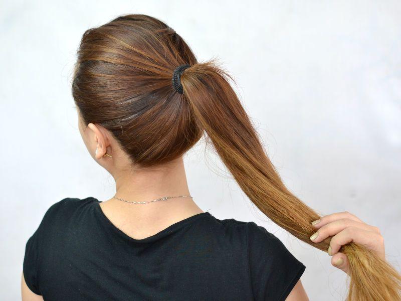 Сильное выпадение волос у женщин прически