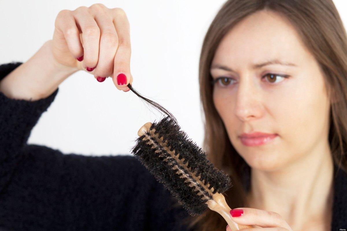 Температура и выпадают волосы