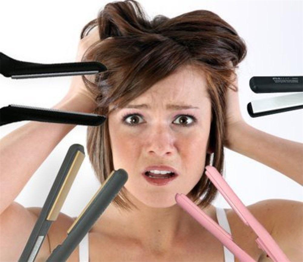 Вред утюжка для волос
