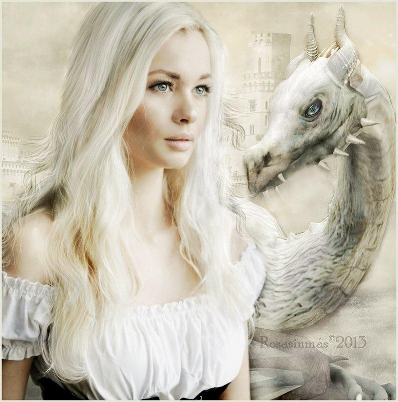 Волос белого дракона