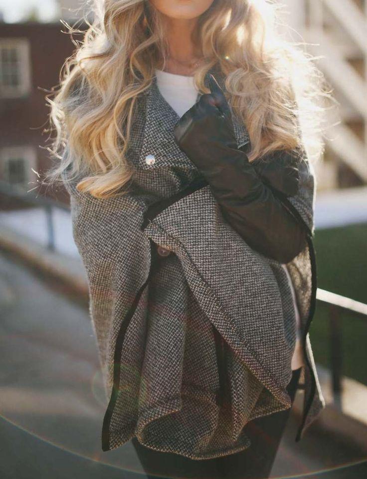 Волосы и пальто