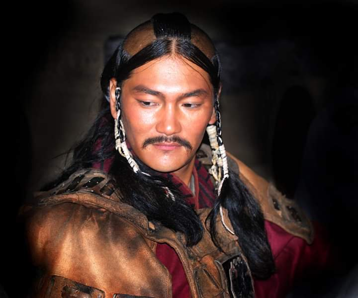 Волосы монголов