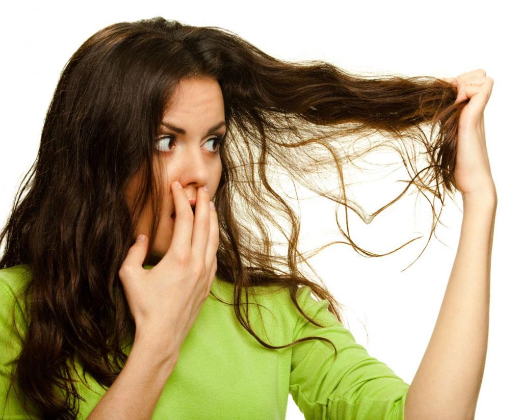 Волосы воняют что делать