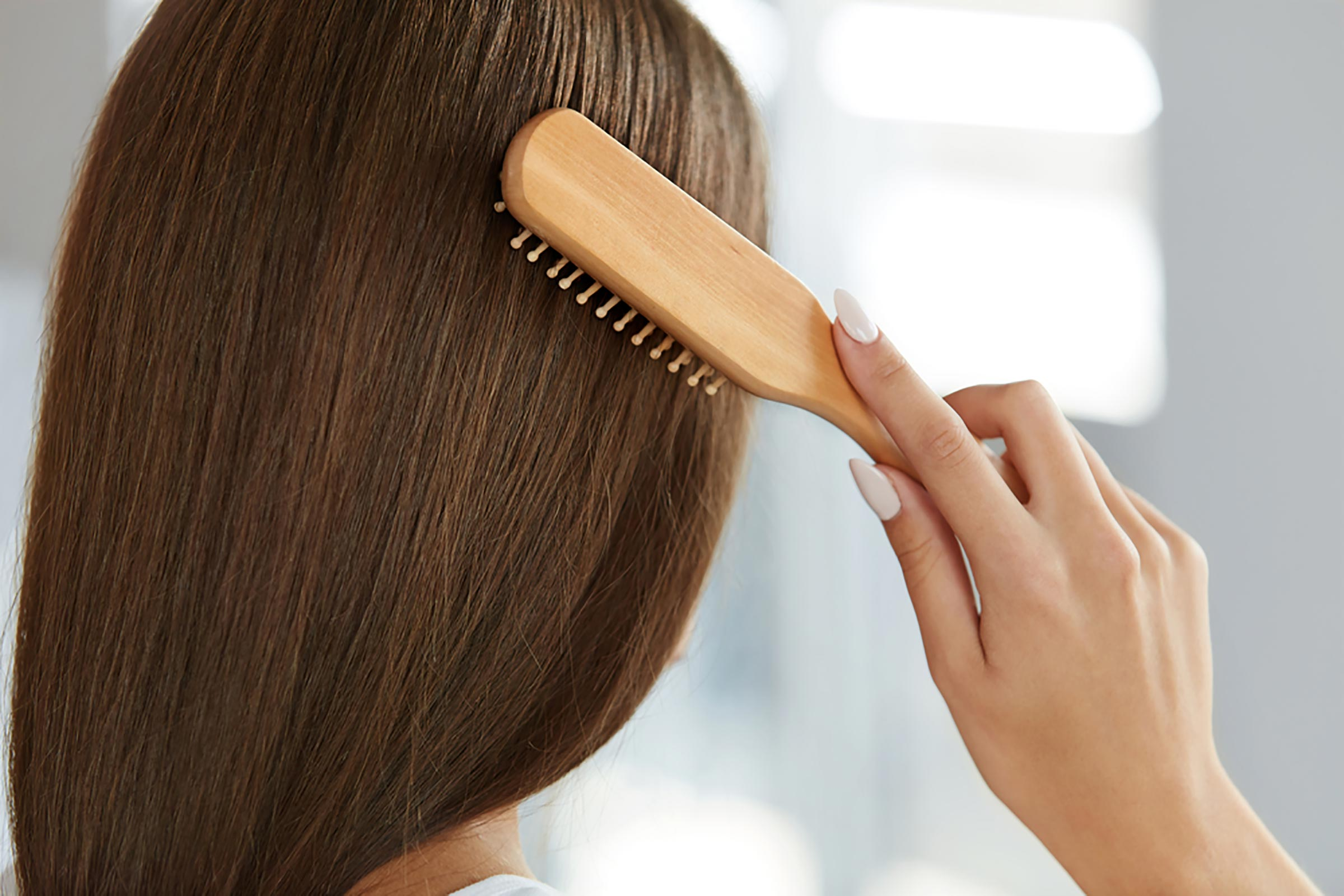 Частое расчесывание волос