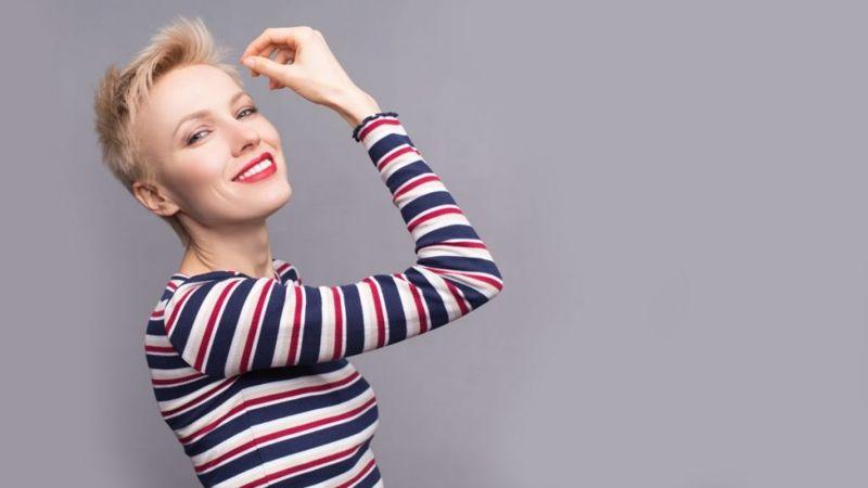 Идеальная прическа для тонких волос - пикси