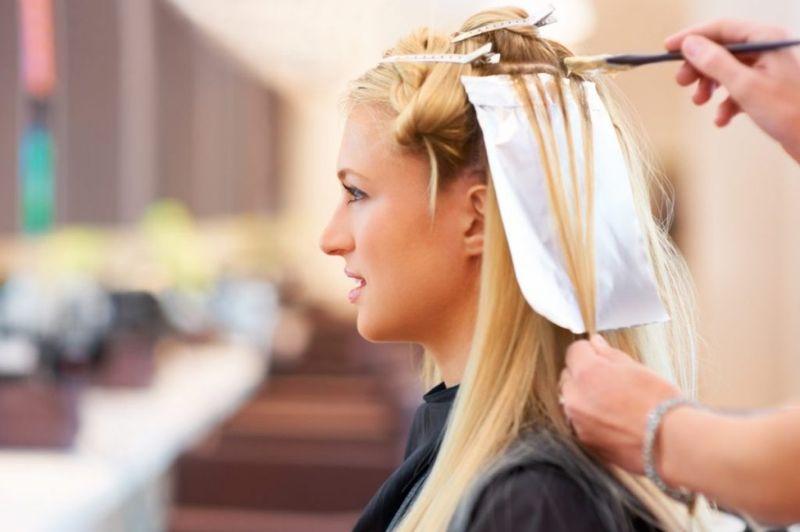мелирование увеличивает густоту волос